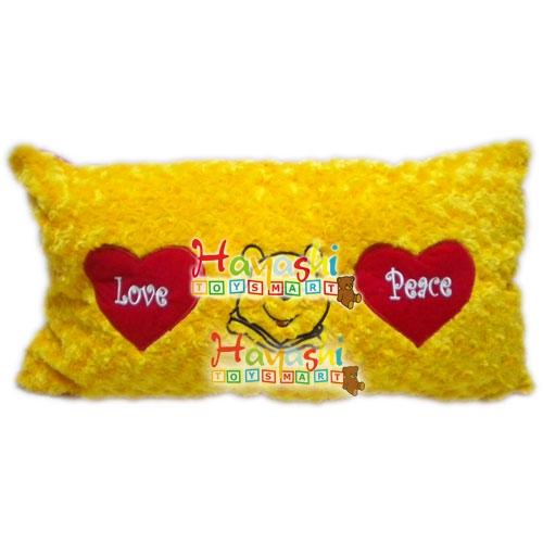 Bantal Kotak Pooh Love Peace