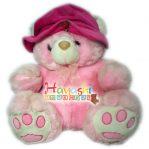 Boneka Bear Topi Red