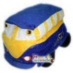 Boneka Bus Biru