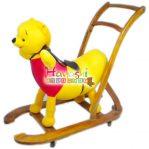 Boneka Rocking Pooh Dorong