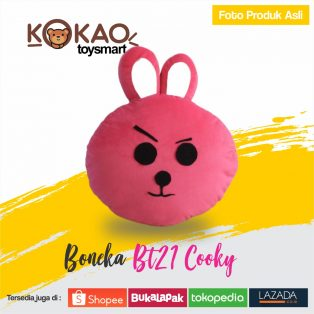 Boneka BT21 Cooky
